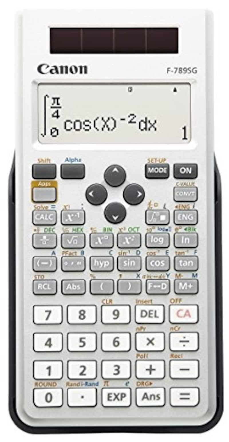キヤノン(Canon),関数電卓,F-789SG
