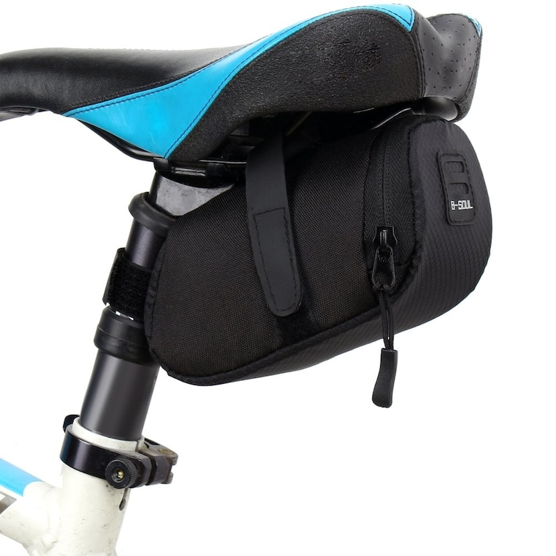 k-outdoor,シートポストバッグ 反射テープ 自転車カバン
