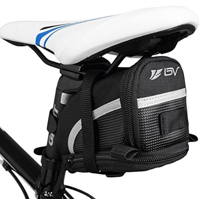 BV,ストラップ式 自転車バッグ シートバッグ 容量拡張