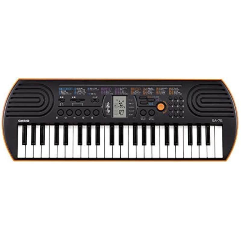 CASIO(カシオ),44ミニ鍵盤 電子キーボード,SA-76