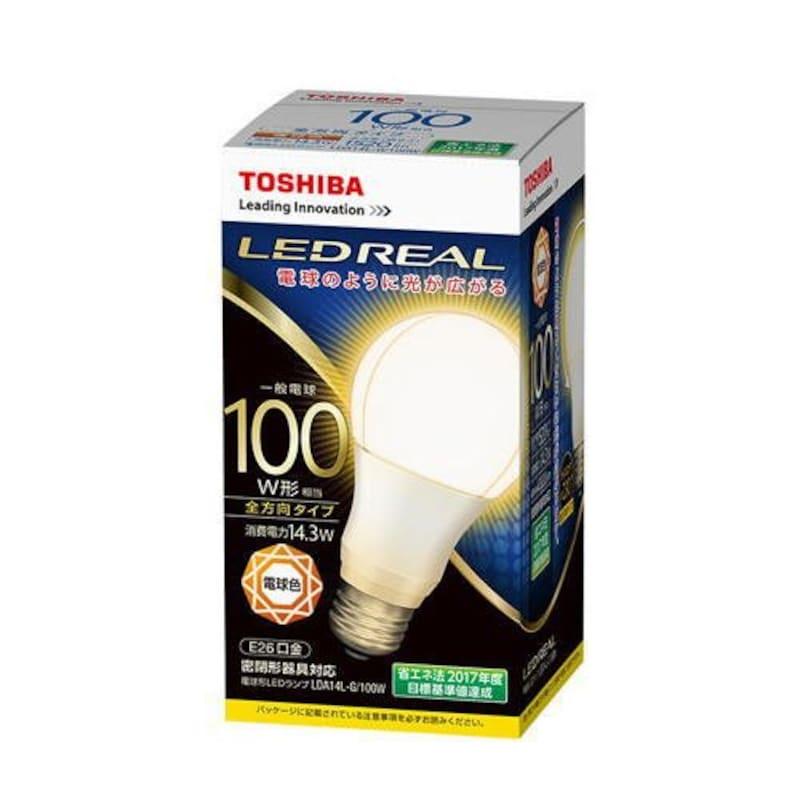 東芝ライテック,LED電球 全方向タイプ,LDA14L-G