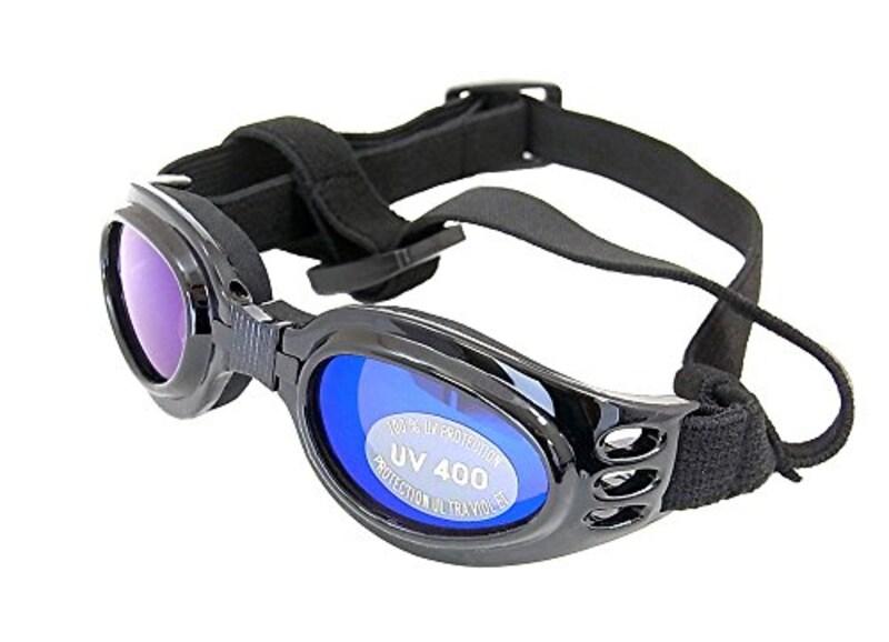 livex,紫外線・車酔い対策黒サングラス