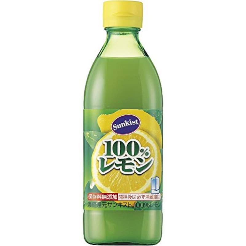 ミツカン ,サンキスト100%レモン