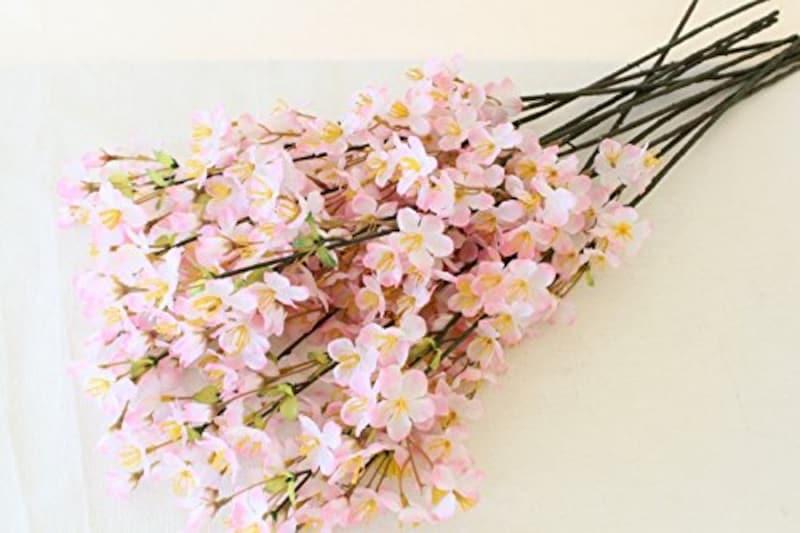 手芸の山久,手芸の山久 シルクフラワー 桜の小枝