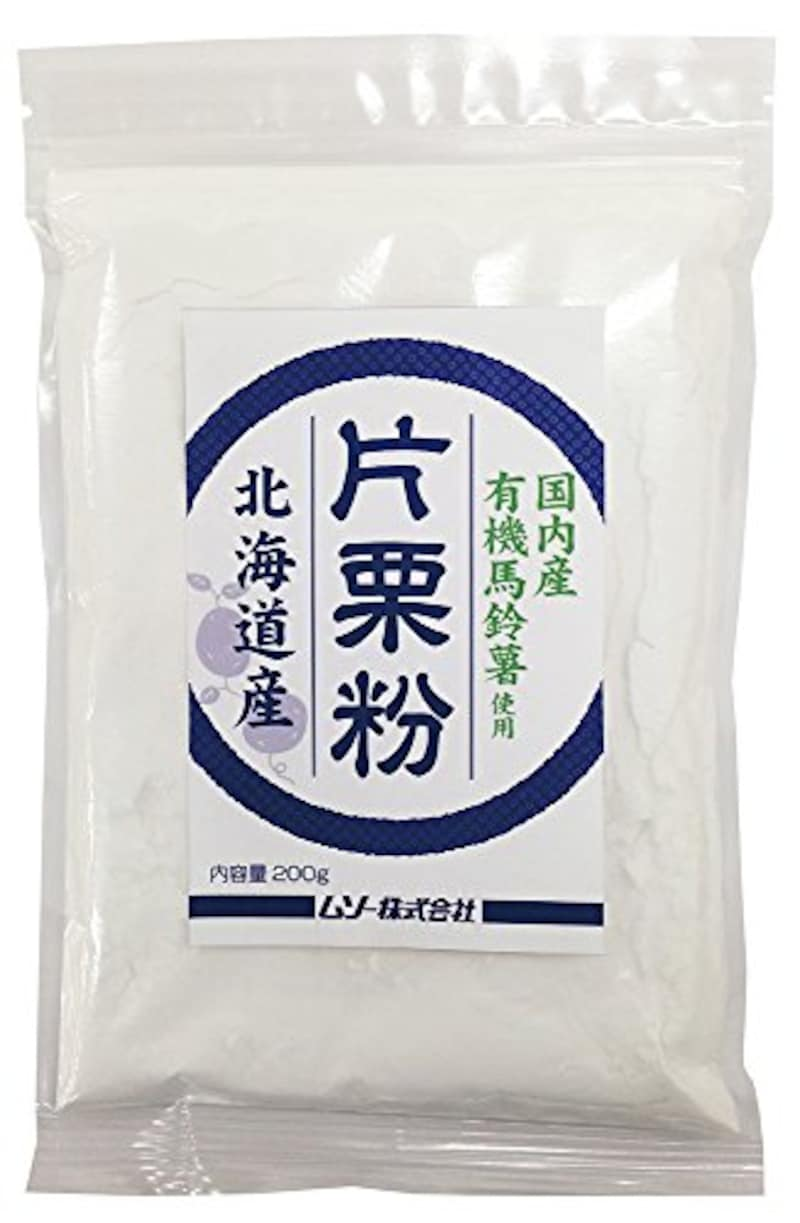 ムソー,国内産有機馬鈴薯使用・片栗粉