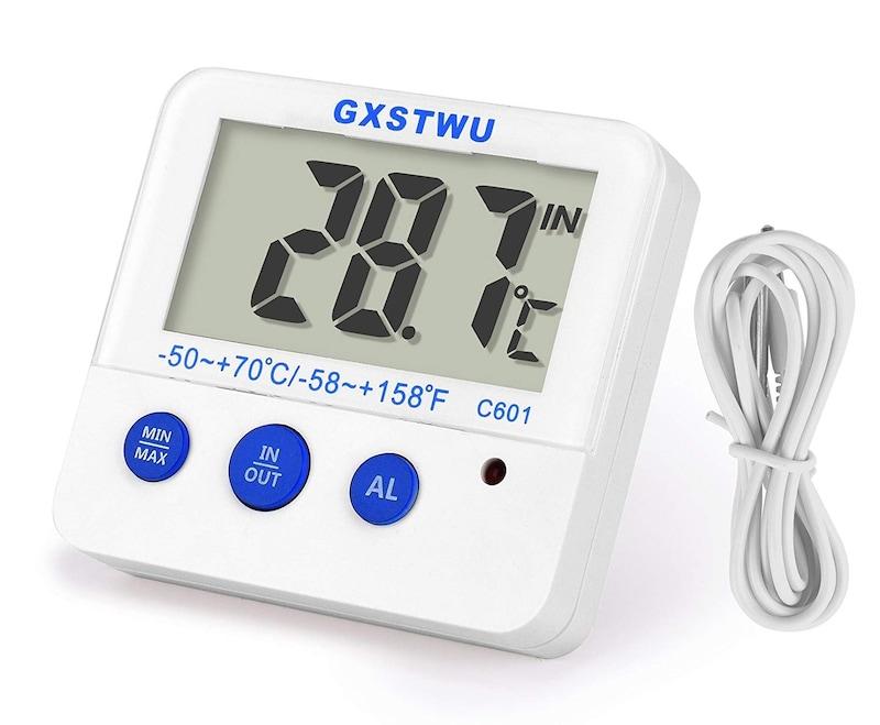 AINYPET ,マグネット付き デジタル水温計,C601