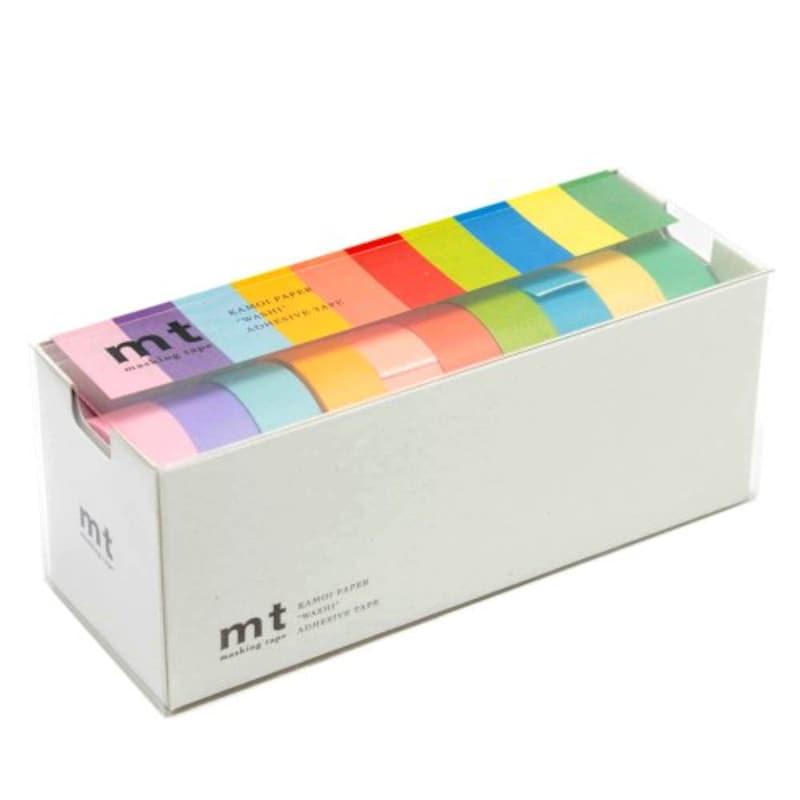 カモ井加工紙,mt 10色セット 明るい色2,MT10P0003