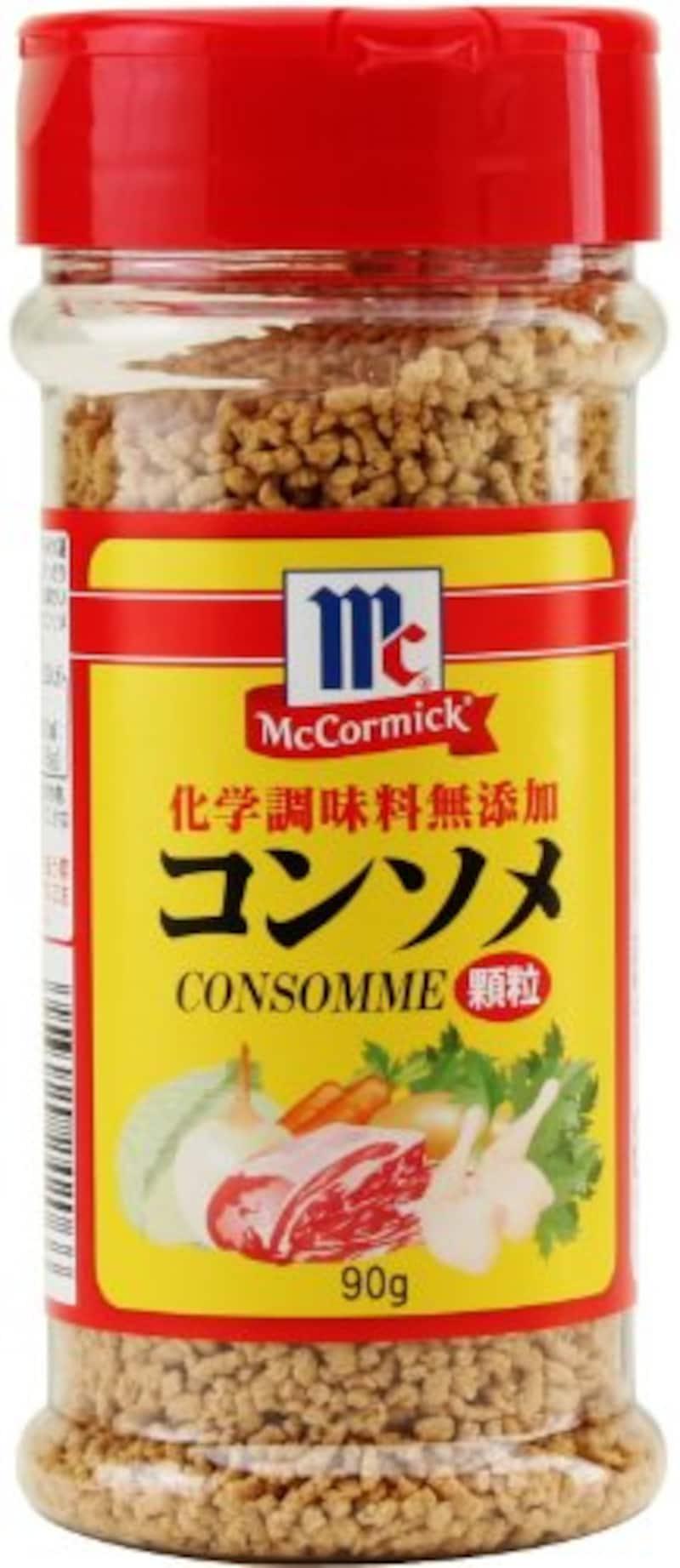 ユウキ食品,マコーミック 化学調味料無添加 コンソメ 顆粒