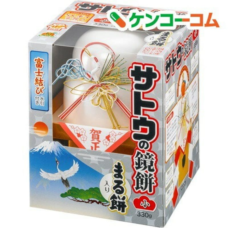 佐藤食品工業,【訳あり】サトウの鏡餅 まる餅入り 小(330g)
