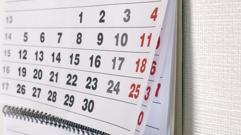 壁掛けカレンダーのおすすめ人気ランキング10選|おしゃれで使いやすいのは?