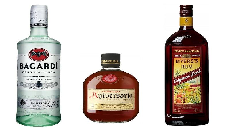 ラム酒のおすすめ人気ランキング10選 カクテルやお菓子に合う種類は?