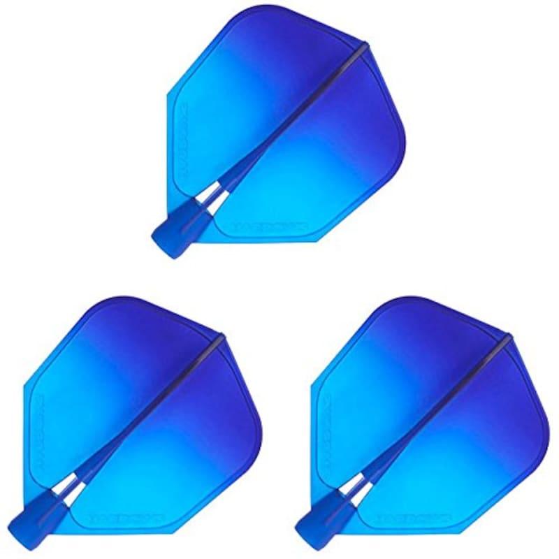 ハローズ ,クリックフライト  ディープアクアグラデーション
