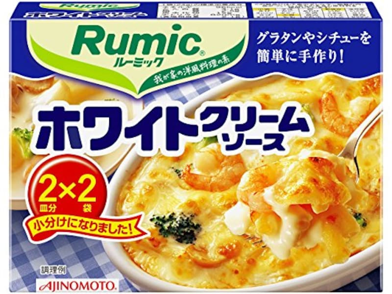 味の素,ルーミック ホワイトクリームソース