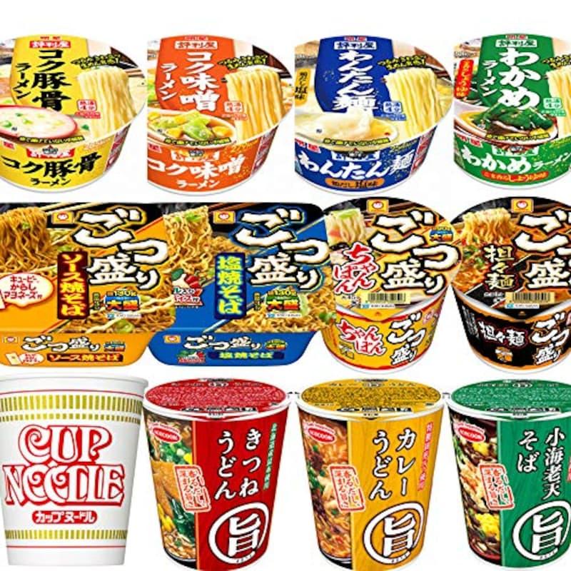 人気のカップ麺 12種類詰め合わせセット
