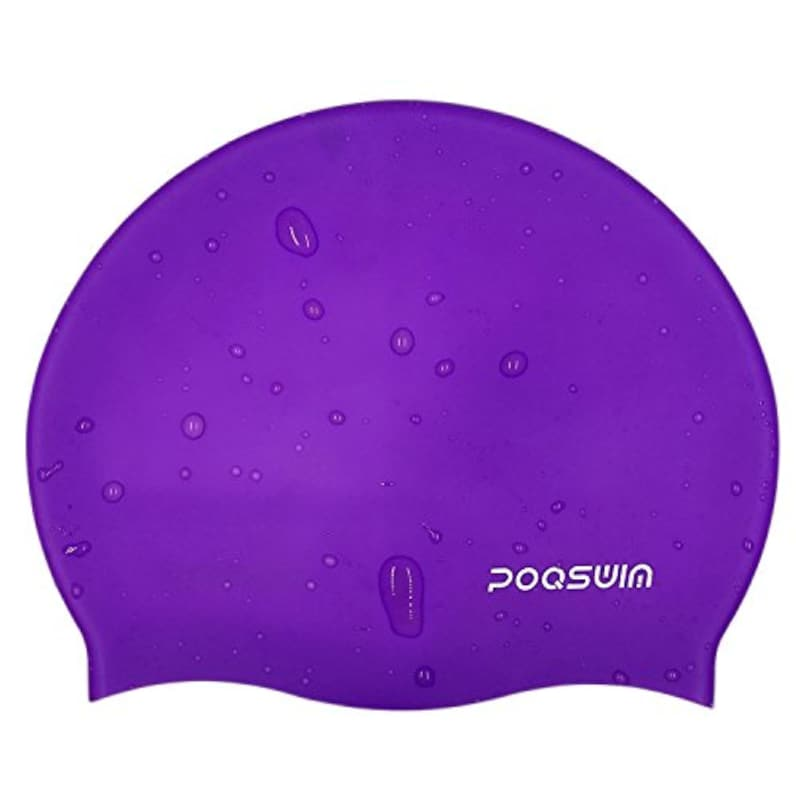 POQSWIM,ソリッドスイミング キャップ,1000143504