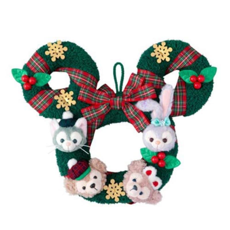 Disney,ダッフィー&フレンズ クリスマスリース,-