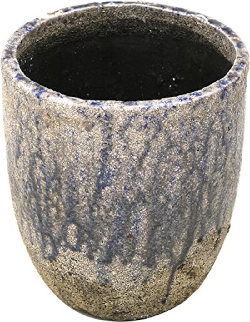 -,陶器植木鉢 フォレストポット 春雷,154018S-S05