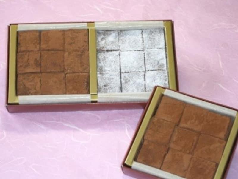 ララ洋菓子店,生チョコ 箱根の石畳