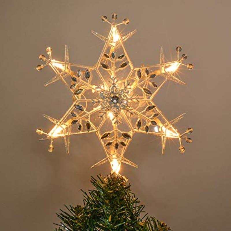 Valery Madelyn, LED クリスマスツリー トップスター,-