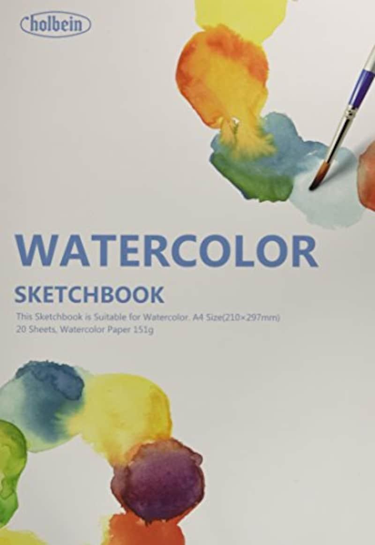 ホルベイン画材,ホルベイン 水彩画用スケッチブック,271201