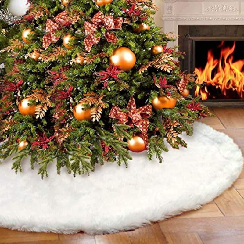 Qiumi,Qiumi クリスマスツリースカート,B07K6C91Q3