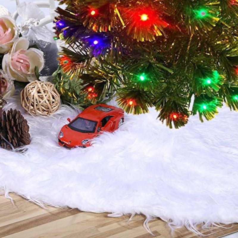 BLUBOON,BLUBOON クリスマスツリースカート,B077NZVJ38