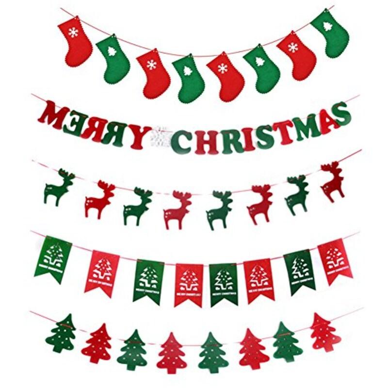 -,クリスマスガーランド,-