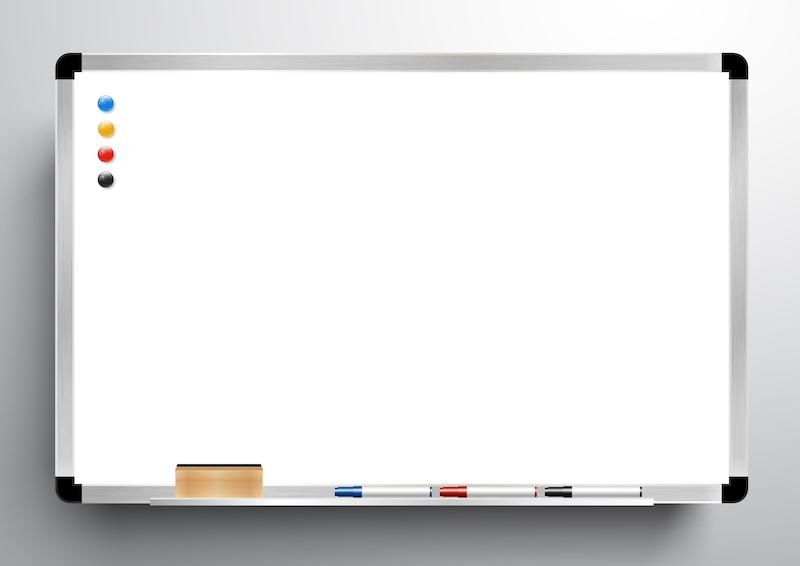 ホワイトボードのおすすめ人気ランキング10選|壁掛けタイプやシートタイプも!