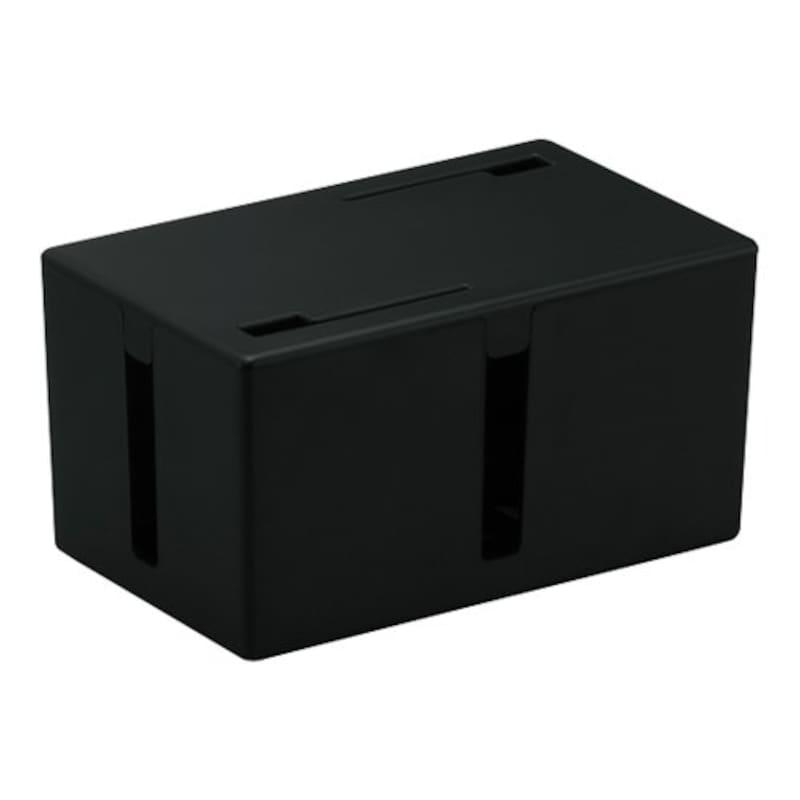 BUFFALO(バッファロー),Sサイズケーブルボックス,BSTB01SBK