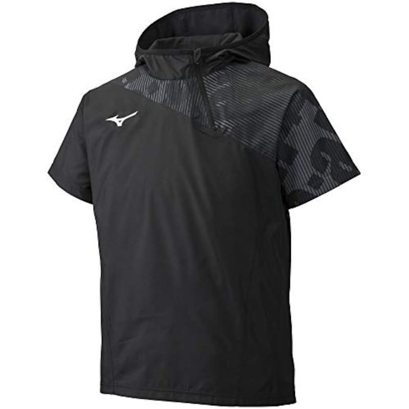 ミズノ,バレーボールウェア ブレーカーシャツ 半袖,V2ME9002