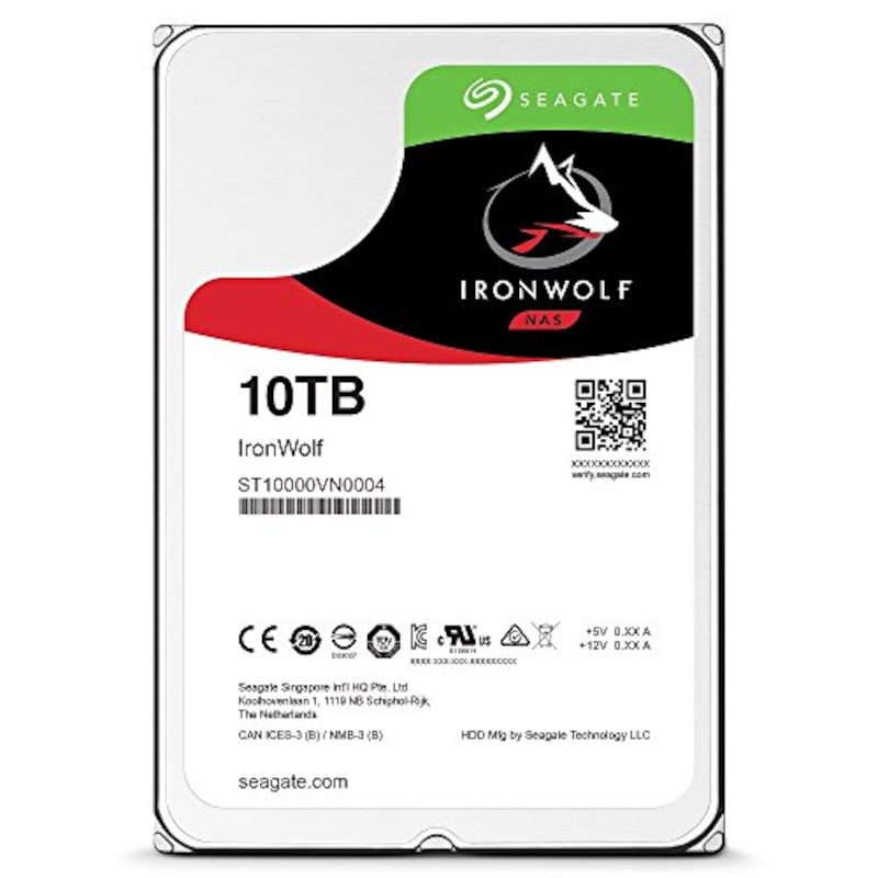 """Seagate,Seagate IronWolf 3.5""""  10TB,ST10000VN0004"""