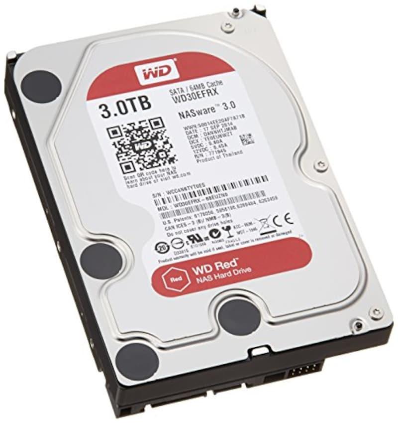 Western Digital,HDD 内蔵ハードディスク  3TB,WD30EFRX