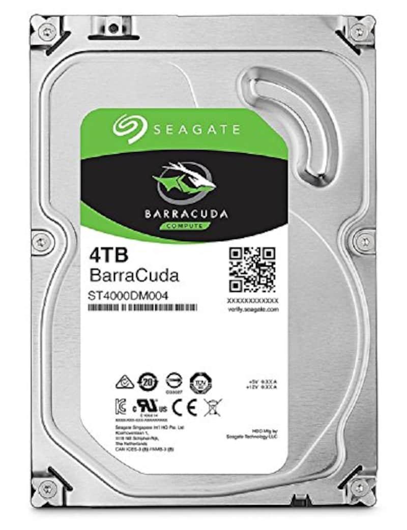Seagate,BarraCuda内蔵ハードディスク  4TB,ST4000DM004