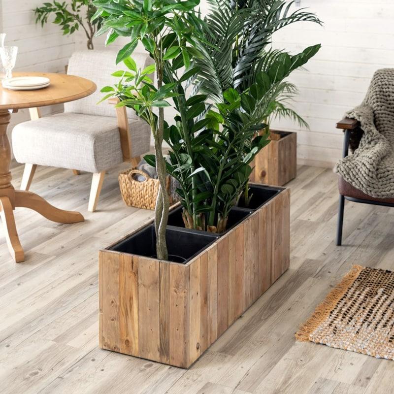 Botanique 木製鉢カバー 長方形