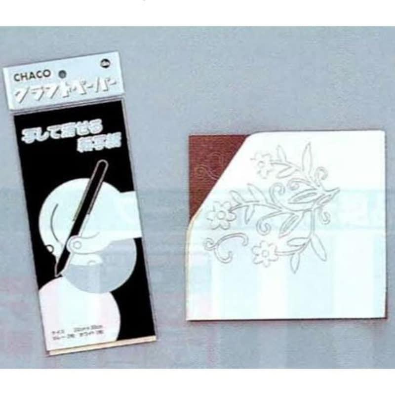 美工社,チャコ グラフトペーパー 3枚組,19-8050