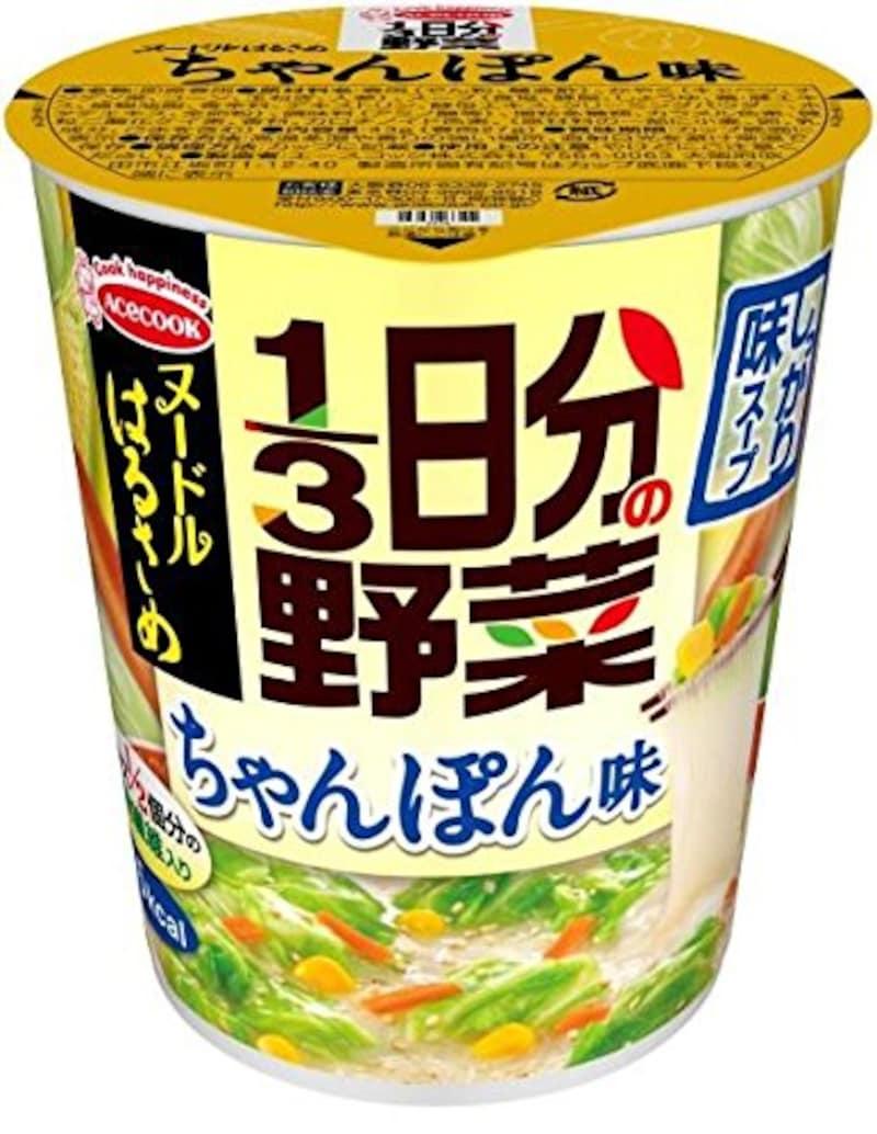 エースコック,ヌードルはるさめ 1/3日分の野菜 ちゃんぽん味 6個