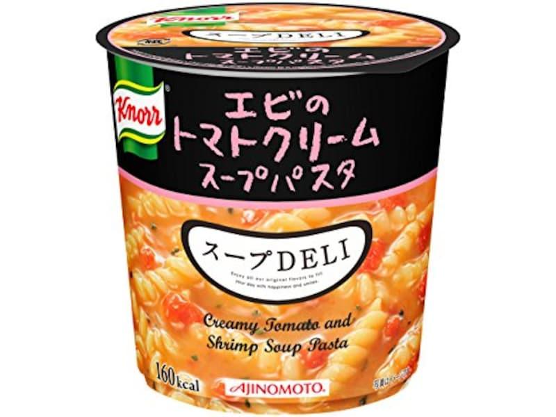クノール,スープDELI エビのトマトクリームスープパスタ