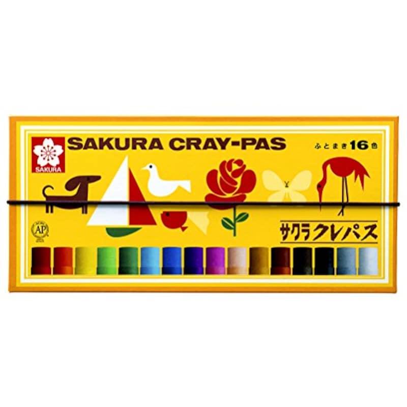 サクラクレパス,クレパス16色,LP16R