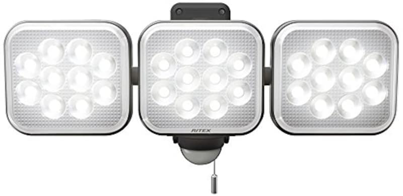 ムサシ,RITEX フリーアーム式LEDセンサーライト ,LED-AC3036