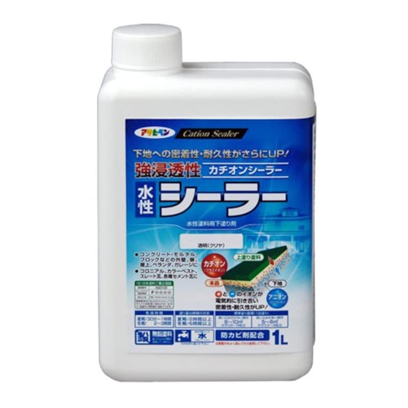 アサヒペン,強浸透性水性シーラー 透明