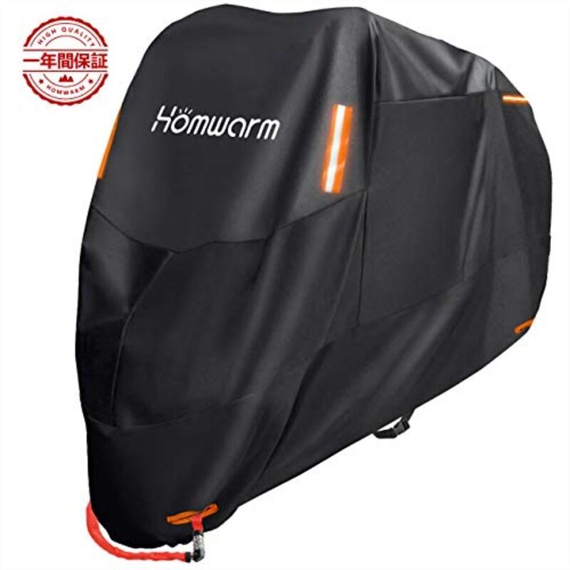 Homwarm,バイクカバー 高品質 300D厚手 防水 紫外線防止 盗難防止