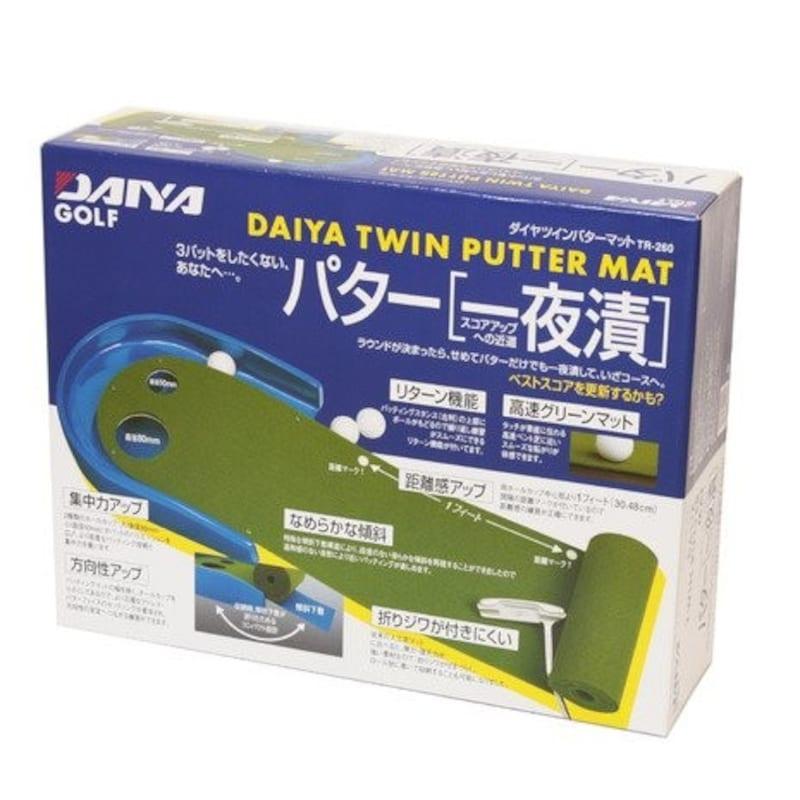 DAIYA(ダイヤ),ダイヤツインパターマット,TR-260