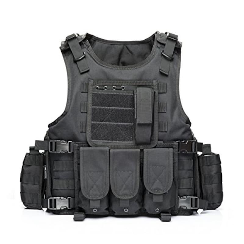YAKEDA,YAKEDA 戦術SWAT CSベスト 陸軍ファンベスト,322