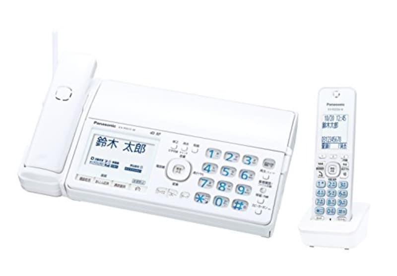 パナソニック,おたっくす デジタルコードレスFAX 子機1台付き,KX-PD515DL-W