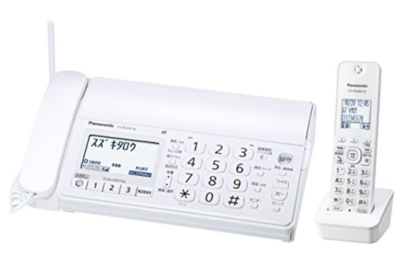 パナソニック,おたっくす デジタルコードレスFAX 子機1台付き,KX-PD205DL-W