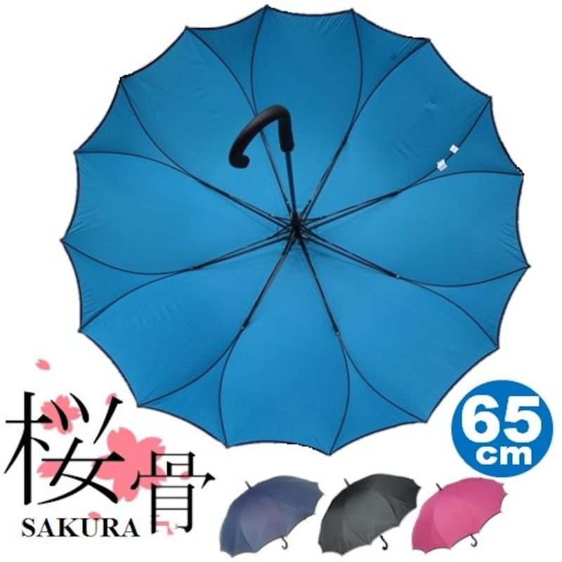 藤田屋,16本サクラ骨シームレス(一枚張り)傘