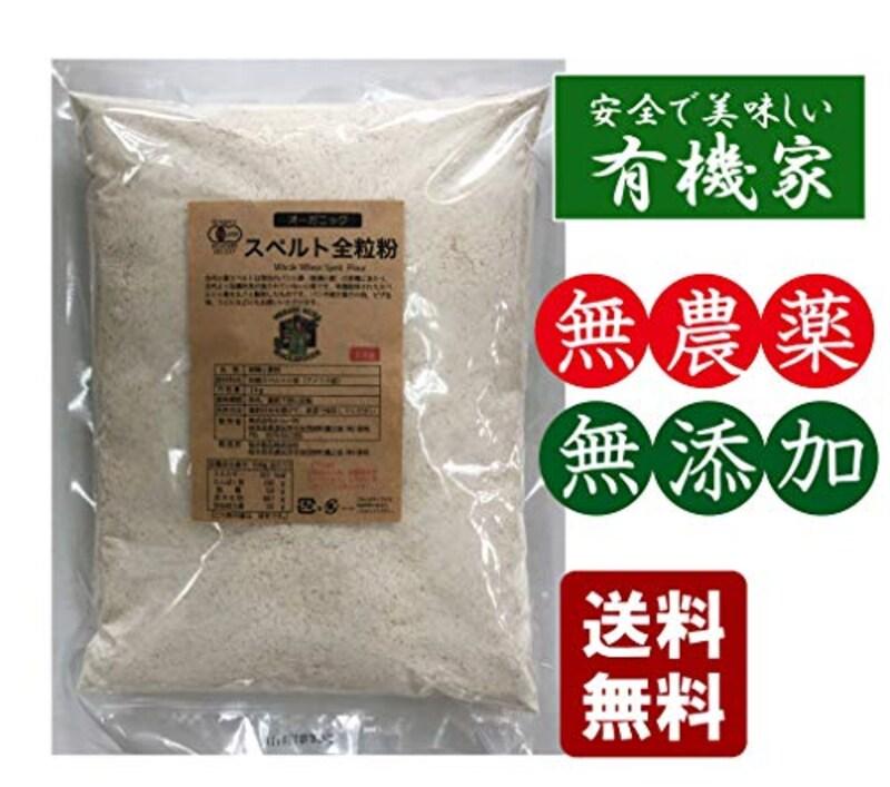 無添加スペルト小麦粉