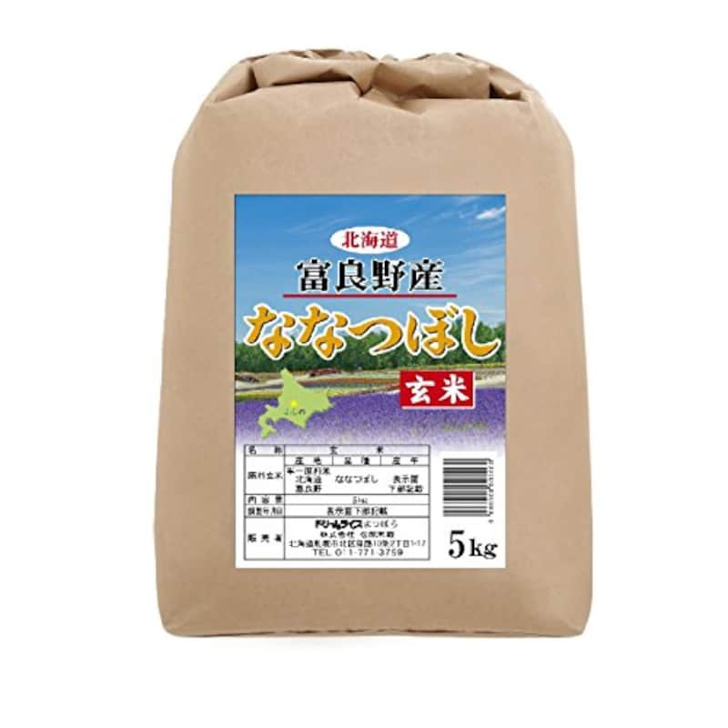 ドリームライス,北海道富良野市山部産 ななつぼし 5kg