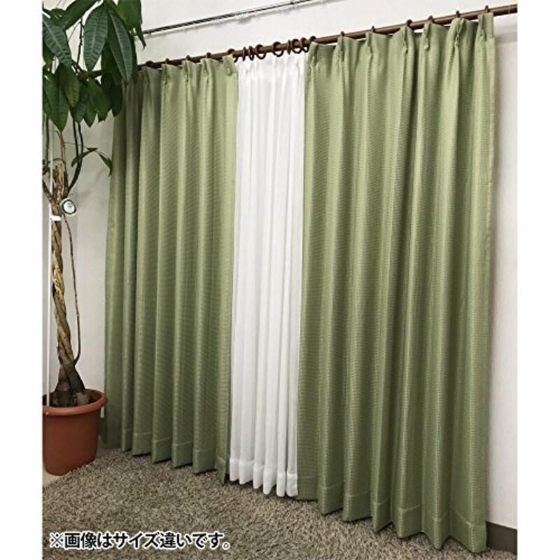 アイリスオーヤマ,UVカット&洗えるカーテン,5003