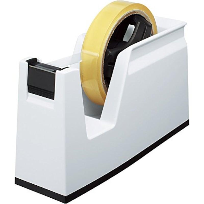 テープカッター カルカット 白,T-SM100W